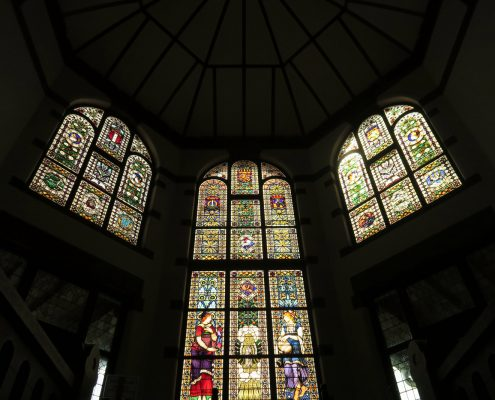 lawang-sewu-stained-glass-windows
