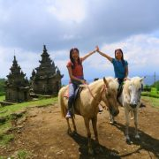 Candi-gedong-songo-horse-ride