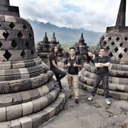 Indonesia's Borobudur Yogyakarta Temple