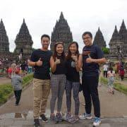 Prambanan Temple Yogyakarta Group Shot