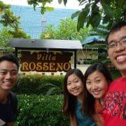 Rosseno Villa Yogyakarta Signboard