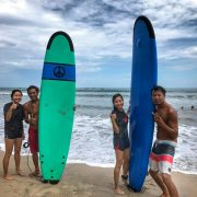 Surfing Lesson Bali Kuta Beach