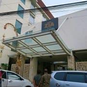 Hotel Zia Bali Kuta Entrance