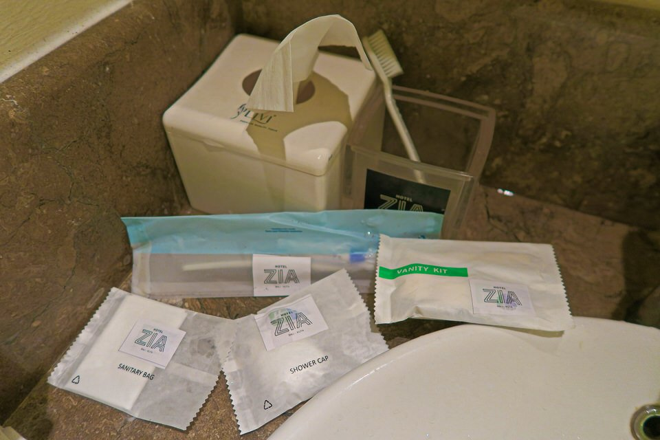 ZIA Kuta Bali Toiletries