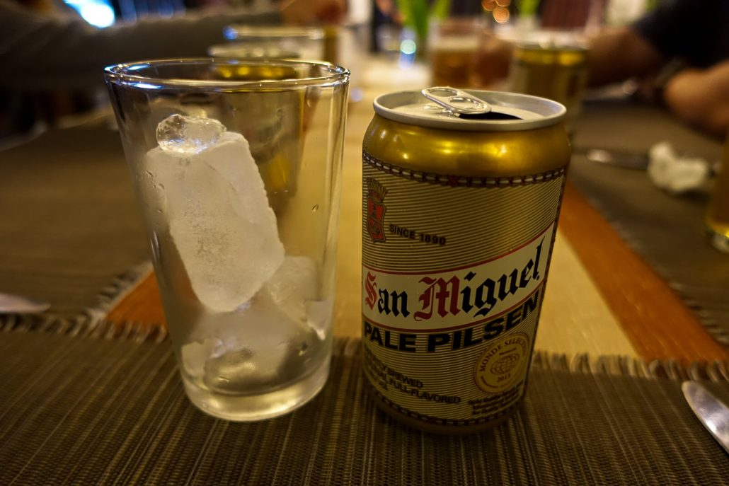 San Miguel Philipines Beer