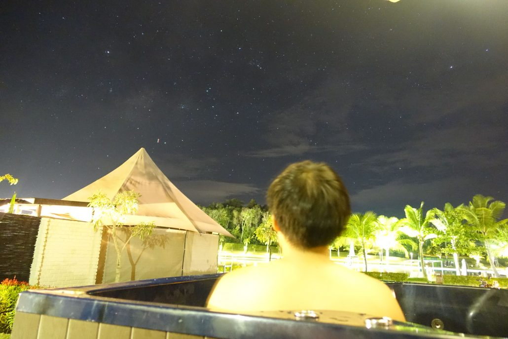 The Canopi Bintan Stargazing In Whirlpool Tub