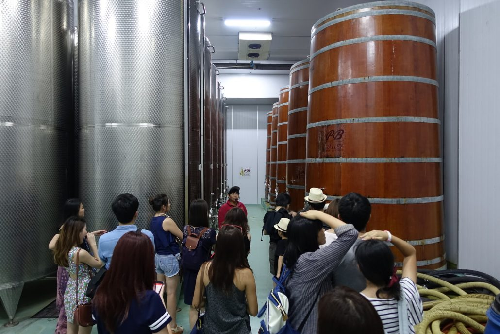 PB Valley Khao Yai Winery Fermentation Room