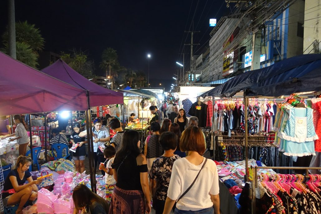 Khao Yai Pak Chong Night Market Shopping