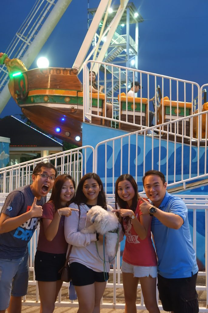 Sky Ranch Tagaytay Dog On Pirate Ship