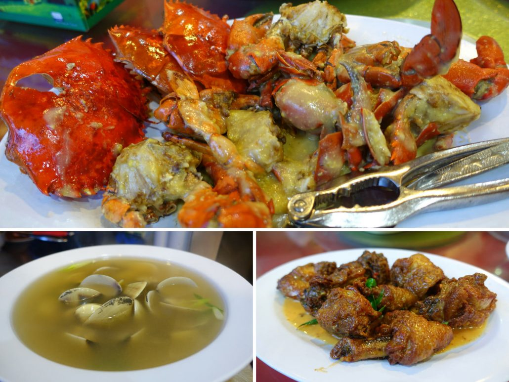 Kota Kinabalu Welcome Seafood Restaurant Crab