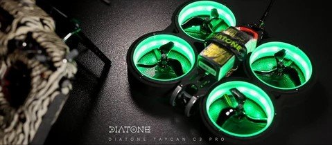 Diatone Mx C 349 Taycan SW2812Led Duct Cinewhoop